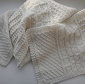 Аксессуары handmade. Livemaster - original item Wool scarf, warm and soft, male/female