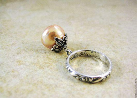 Кольца ручной работы. Ярмарка Мастеров - ручная работа. Купить Кольцо Luxury Pearl серебро жемчуг касуми. Handmade.