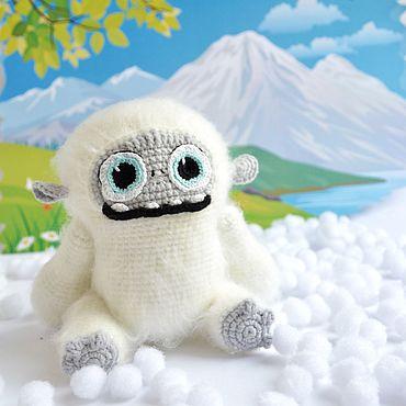 Куклы и игрушки ручной работы. Ярмарка Мастеров - ручная работа Йети Эверест. Handmade.