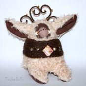 Куклы и игрушки ручной работы. Ярмарка Мастеров - ручная работа Кроликоид Лесной олень. Handmade.