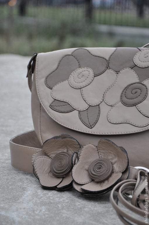 """Женские сумки ручной работы. Ярмарка Мастеров - ручная работа. Купить Кожаный клатч  """" Вальс цветов"""". Handmade."""