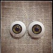 """Материалы для творчества ручной работы. Ярмарка Мастеров - ручная работа Глаза для кукол """"Живой взгляд"""" 16 мм. Handmade."""