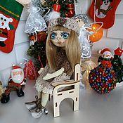 Портретная кукла ручной работы. Ярмарка Мастеров - ручная работа Кукла текстильная интерьерно-игровая. Handmade.