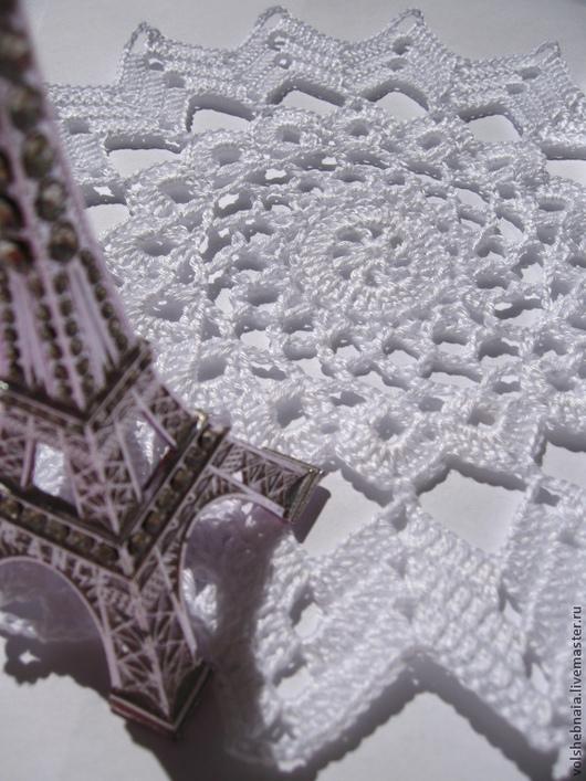 Текстиль, ковры ручной работы. Ярмарка Мастеров - ручная работа. Купить Салфетка ПАРИЖ ажурная, кружевная, декор, интерьер, бохо стиль. Handmade.