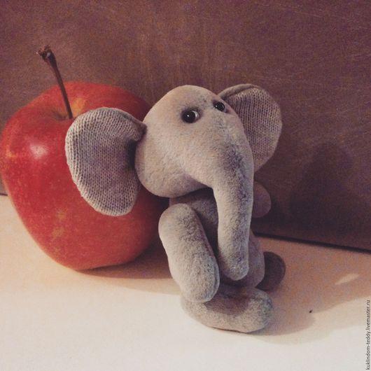 Мишки Тедди ручной работы. Ярмарка Мастеров - ручная работа. Купить Слоненок Макс. Handmade. Серый, слоненок, тедди слон