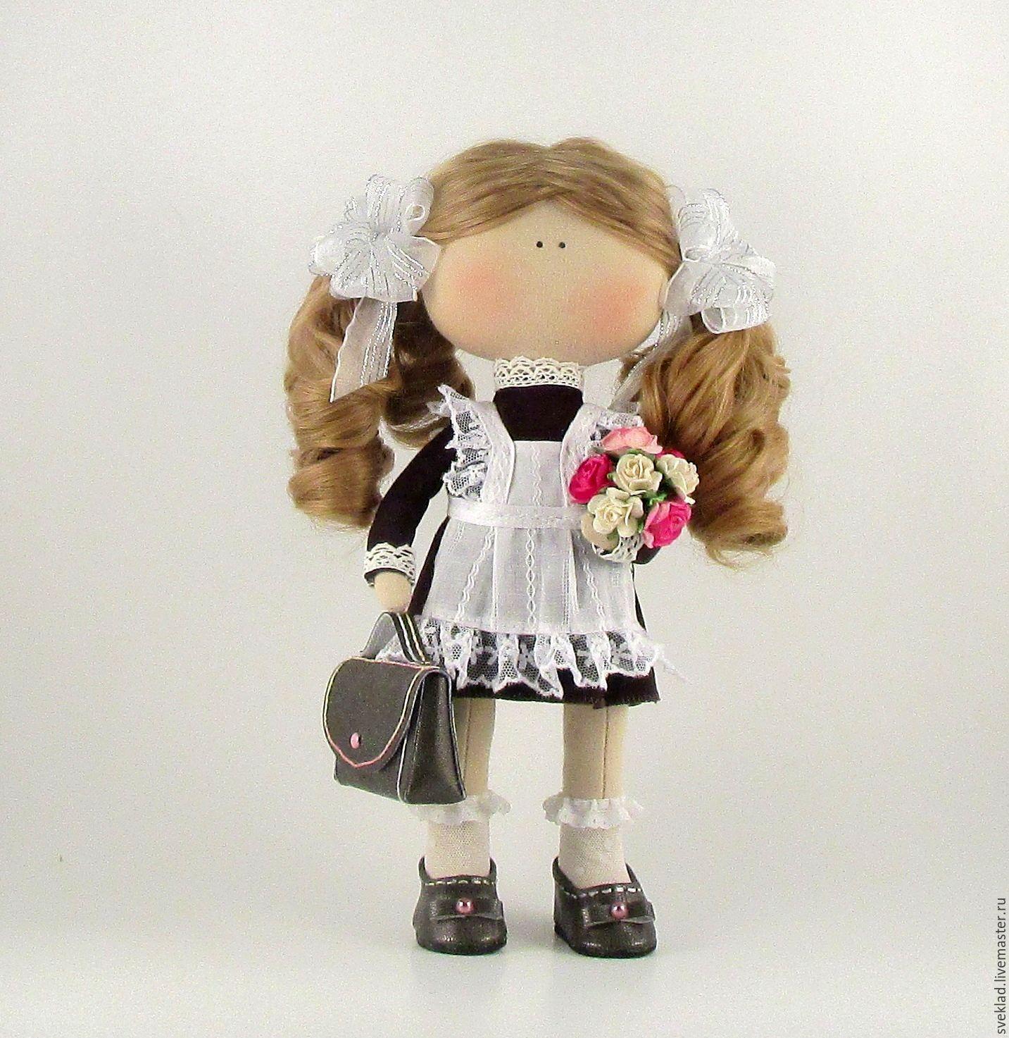 Кукла ученица своими руками