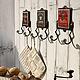 Экстерьер и дача ручной работы. Ярмарка Мастеров - ручная работа. Купить Крючки серии Кафе. Handmade. Предмет интерьера, Кафе