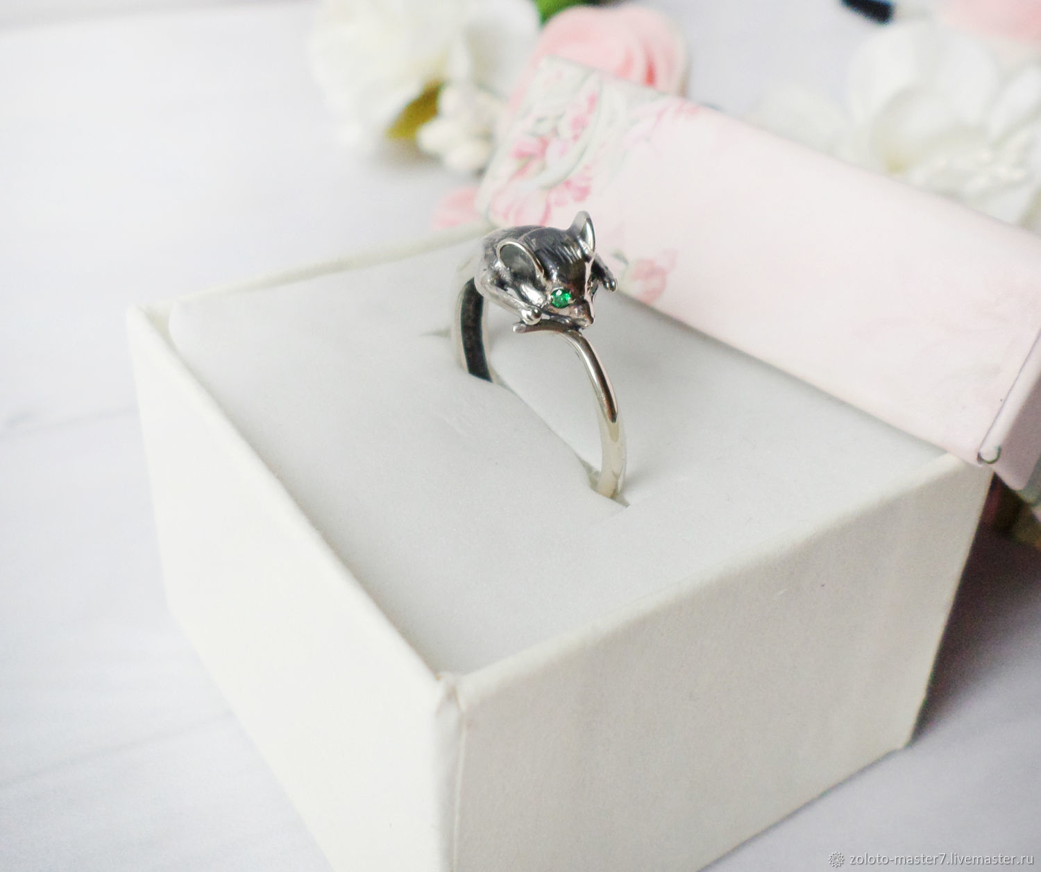Silver ring ' Mouse', Rings, Chaikovsky,  Фото №1