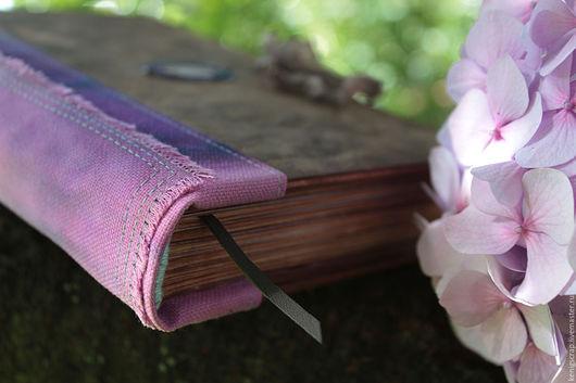 Блокноты ручной работы. Ярмарка Мастеров - ручная работа. Купить Лавандовый дневник. Handmade. Фиолетовый, дерево, подарок учителю, краски