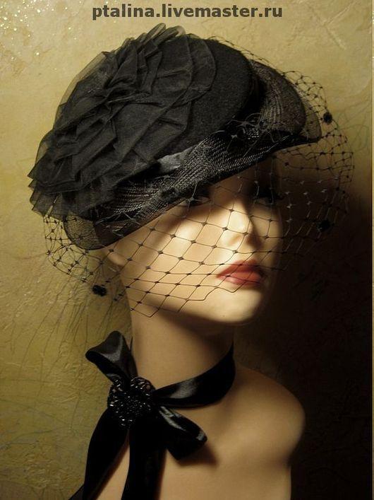 """Шляпы ручной работы. Ярмарка Мастеров - ручная работа. Купить авторская шляпка  """"Анна-Мари. Handmade. Шляпка, вечерняя шляпка"""