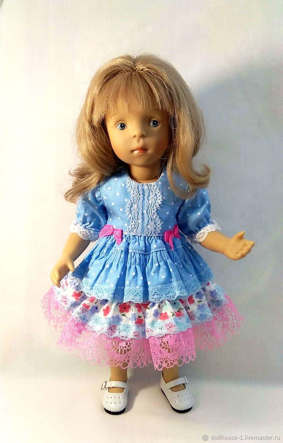 Dress for dolls Paola Reina, Minush, Clothes for dolls, Moscow,  Фото №1
