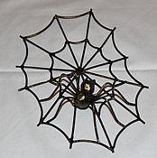 Для дома и интерьера handmade. Livemaster - original item Miniature webs for decoration. Handmade.