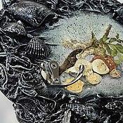 """Для дома и интерьера ручной работы. Ярмарка Мастеров - ручная работа Набор  """"Голубая лагуна"""". Handmade."""