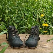 Куклы и игрушки ручной работы. Ярмарка Мастеров - ручная работа Зеленые ботиночки. Handmade.