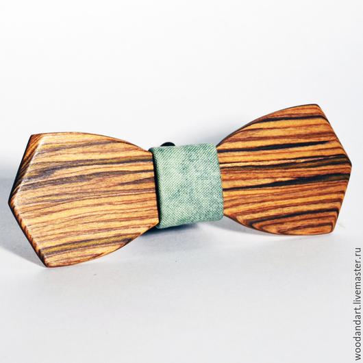 Галстуки, бабочки ручной работы. Ярмарка Мастеров - ручная работа. Купить Деревянная галстук- бабочка. Handmade. Зеленый, деревянный, бабочка