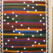 Для дома и интерьера ручной работы. Ярмарка Мастеров - ручная работа Одеяло Северное сияние. Handmade.