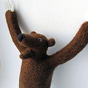 Куклы и игрушки ручной работы. Ярмарка Мастеров - ручная работа Превед Медвед, войлок. Handmade.