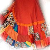 """Одежда ручной работы. Ярмарка Мастеров - ручная работа Летняя юбка """"Зов солнца"""". Handmade."""