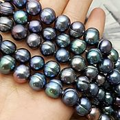 Материалы для творчества handmade. Livemaster - original item 10 PCs. Pearls of natures. 9-10mm AA (3591). Handmade.