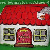 """Куклы и игрушки ручной работы. Ярмарка Мастеров - ручная работа Книжка-игрушка """"Мой дом"""".. Handmade."""