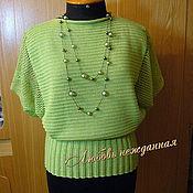 Одежда ручной работы. Ярмарка Мастеров - ручная работа Кофточка летняя льняная. Handmade.
