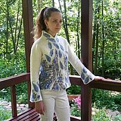 Одежда handmade. Livemaster - original item Author`s felted jacket