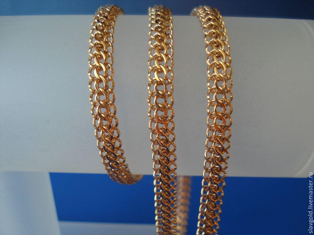 Итальянка плетение цепочек
