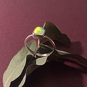 Украшения handmade. Livemaster - original item Ring Ethiopian opal. Handmade.