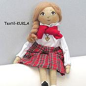 """Куклы и игрушки ручной работы. Ярмарка Мастеров - ручная работа Текстильная кукла """"Inglish girl"""". Handmade."""