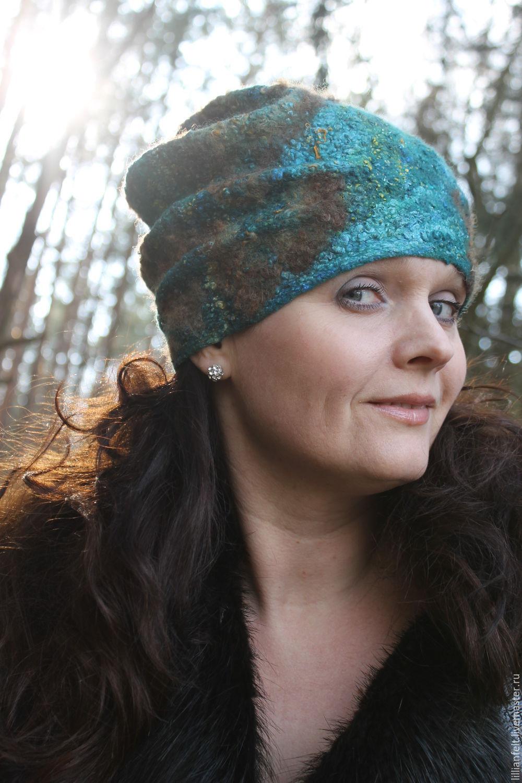 beanie 'textured', Caps, Gorodok,  Фото №1