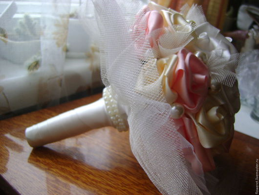 Свадебные цветы ручной работы. Ярмарка Мастеров - ручная работа. Купить Нежные чувства. Handmade. Свадьба, букет, букет на свадьбу