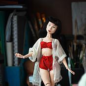 Куклы и игрушки ручной работы. Ярмарка Мастеров - ручная работа Мэйбл (пин-ап проект)( продана). Handmade.
