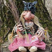 Куклы и игрушки ручной работы. Ярмарка Мастеров - ручная работа Текстильная кукла Баба-Яга. Handmade.