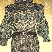 Одежда ручной работы. Ярмарка Мастеров - ручная работа Платье золотистое. Handmade.
