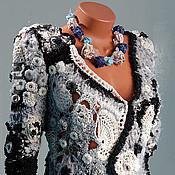 Одежда handmade. Livemaster - original item Knitted jacket cardigan