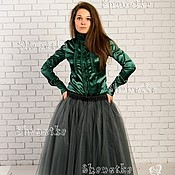 Одежда handmade. Livemaster - original item Tutu skirt is made of tulle in the style of Carrie Bradshaw. Handmade.