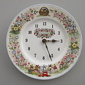 Винтаж handmade. Livemaster - original item Watch from the Wedgwood Foxwood Tales Tales of the Fox of the forest. Handmade.