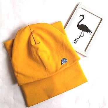 Товары для малышей ручной работы. Ярмарка Мастеров - ручная работа Комплект шапка снуд. Handmade.