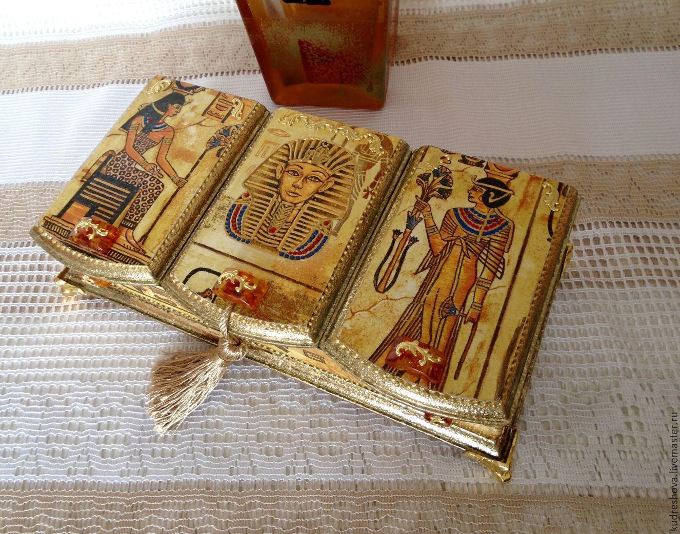 box triple Treasures of Tutankhamun (Egypt), Box, Frolovo,  Фото №1