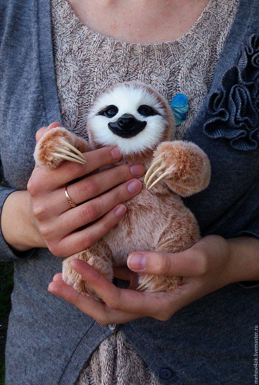 Игрушка ленивец своими руками