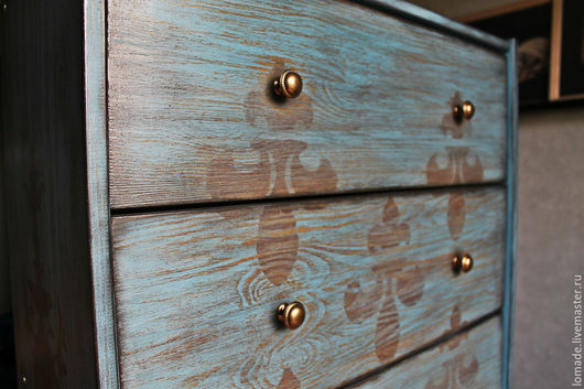 Мебель ручной работы. Ярмарка Мастеров - ручная работа. Купить Комод Палаццо / Palazzo. Handmade. Тёмно-бирюзовый