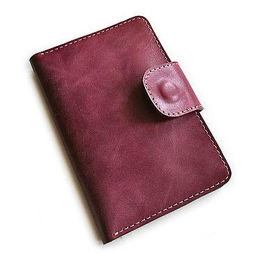 Stationery handmade. Livemaster - original item Copy of the work passport Cover. Handmade.