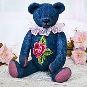 Куклы и игрушки handmade. Livemaster - original item Bear with embroidery