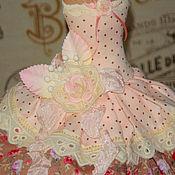 Для дома и интерьера ручной работы. Ярмарка Мастеров - ручная работа Мини-манекен Шебби (розовый, сливочный). Handmade.