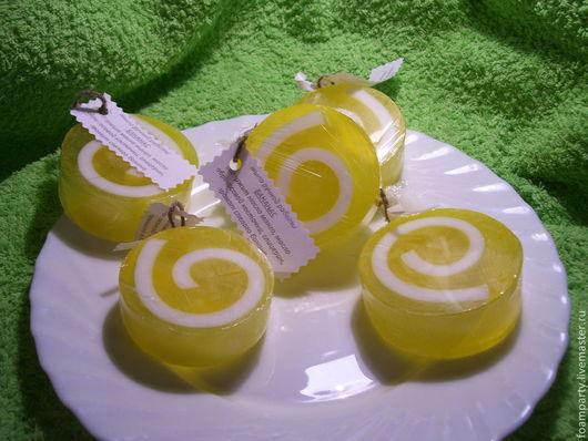 """Мыло ручной работы. Ярмарка Мастеров - ручная работа. Купить Мыло """"Бананас"""". Handmade. Желтый, фруктовое мыло, фрукты"""