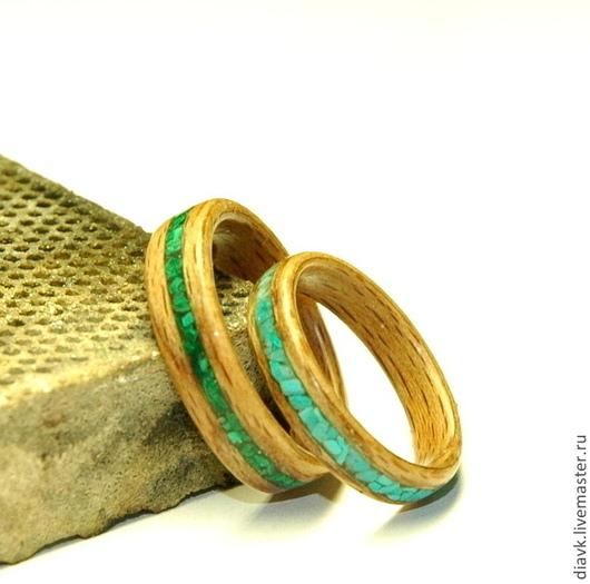 Свадебные украшения ручной работы. Ярмарка Мастеров - ручная работа. Купить Обручальные кольца из дерева Совет да Любовь (bentwood rings). Handmade.