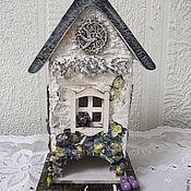 """Для дома и интерьера handmade. Livemaster - original item Чайный домик """"Прованс"""". Handmade."""