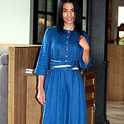 Одежда handmade. Livemaster - original item Dress linen dress boho. Handmade.