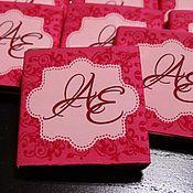 """Свадебный салон ручной работы. Ярмарка Мастеров - ручная работа Бонбоньерка """"Аленький цветочек"""". Handmade."""