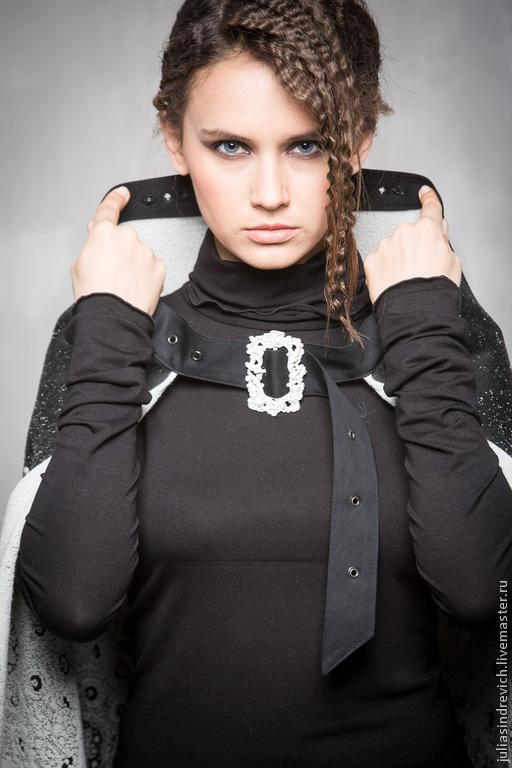 ГА_004 Водолазка черная, хлопок с вискозой. Можно использовать под любой костюм и создавать различные образы.